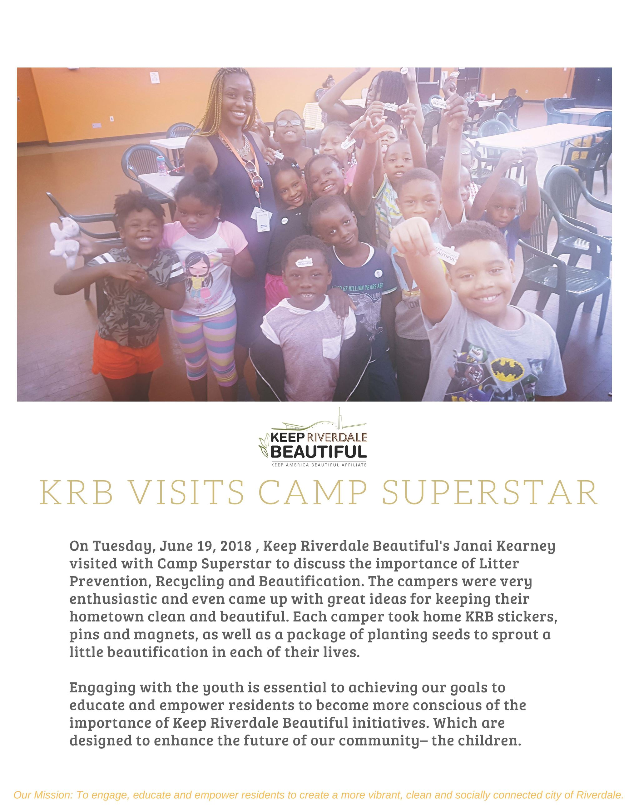 KRB Visits Camp Superstar 1