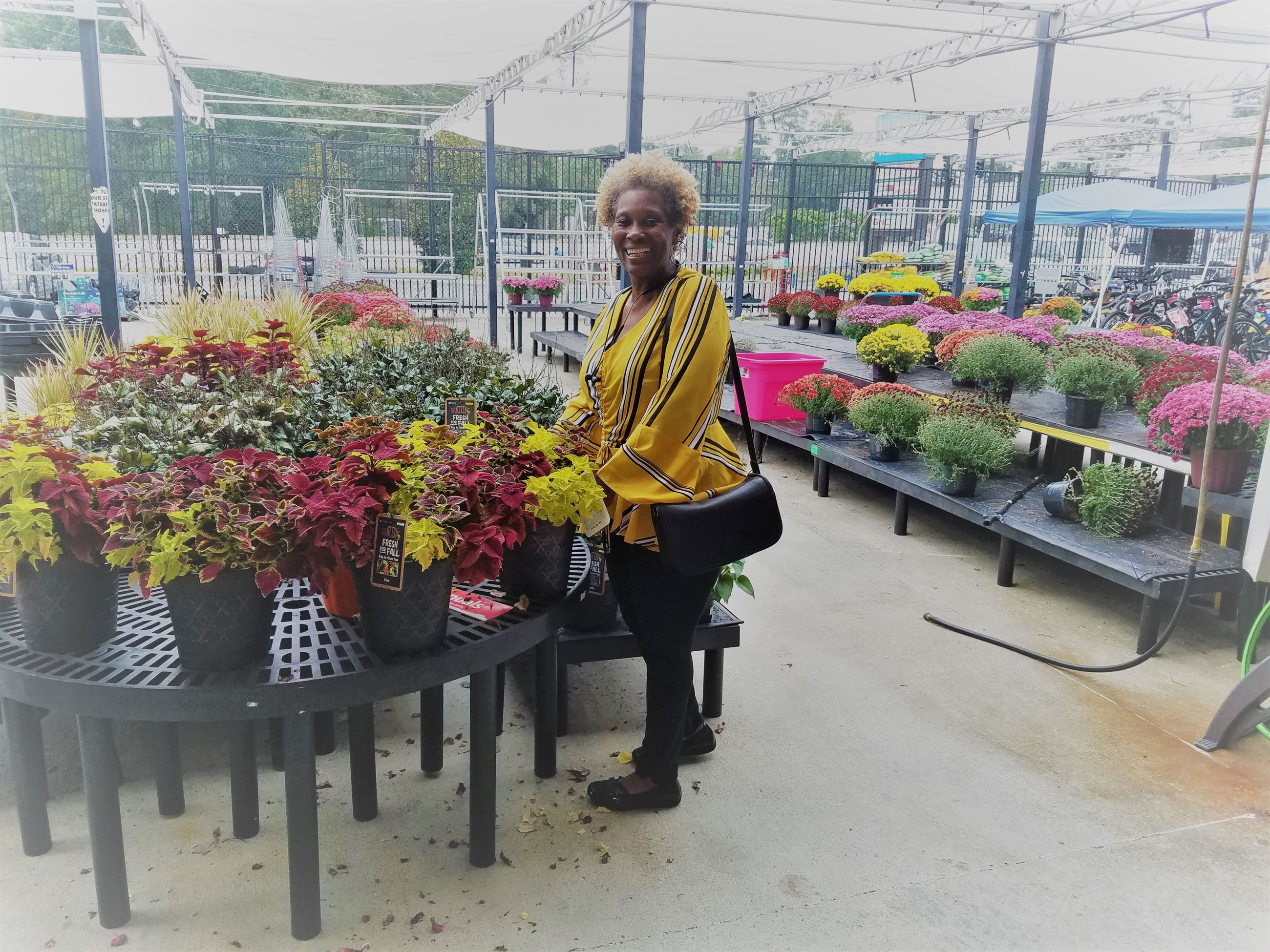 Mrs. Linda Grier Quartlery Winner October 2018