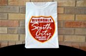 South City Concert T-Shirt in Red and White