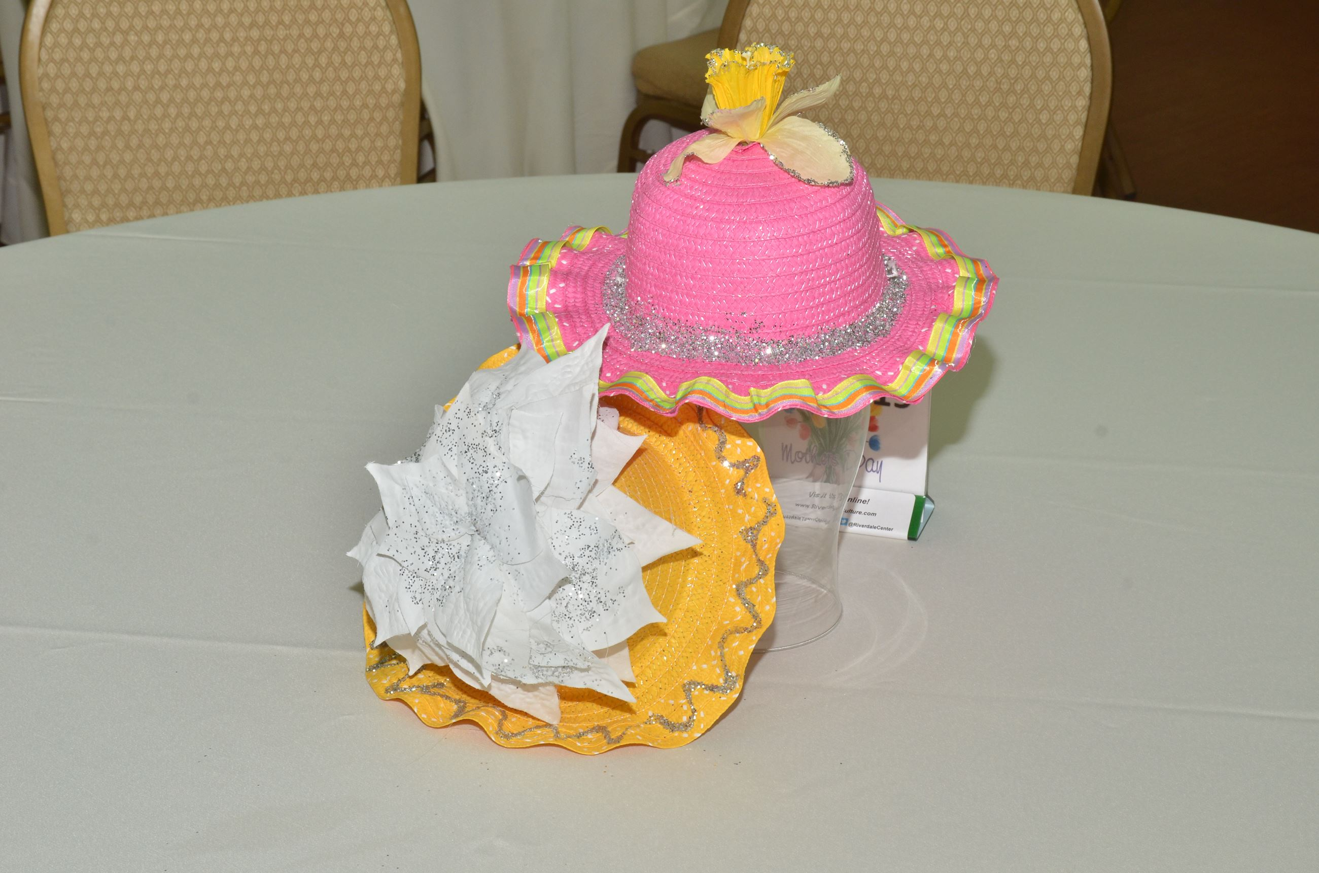 Hat Decoration on Table