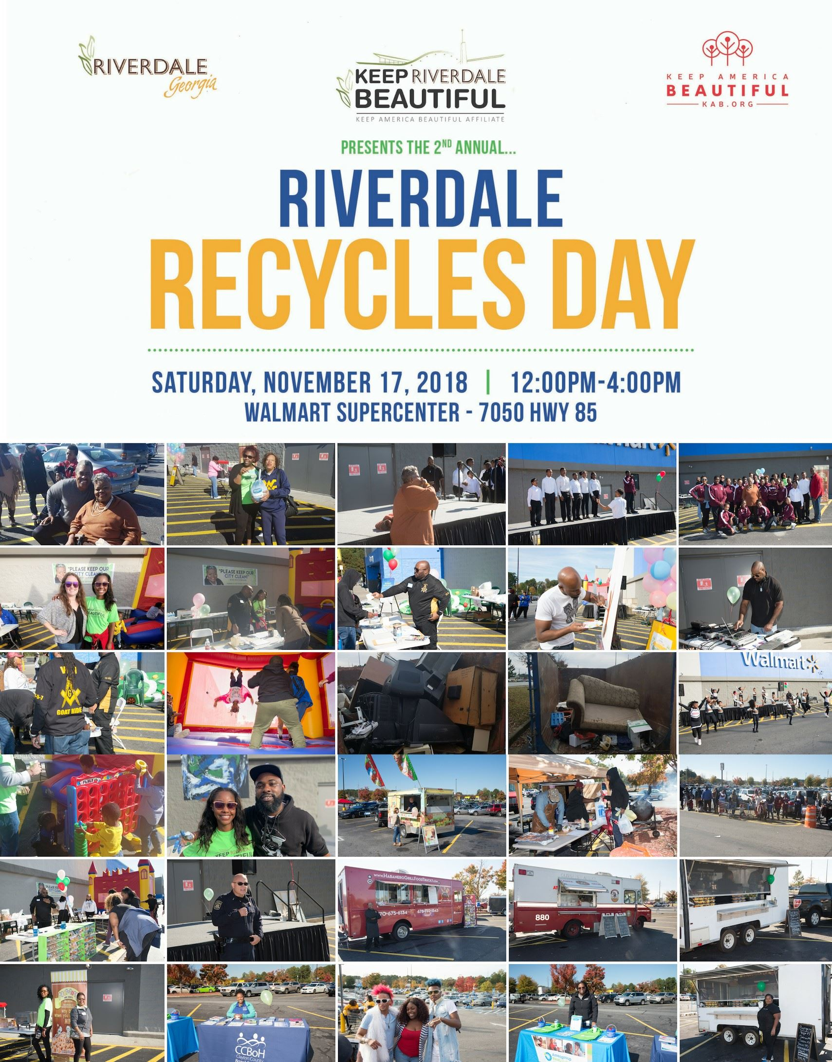 Recycles Day Collage