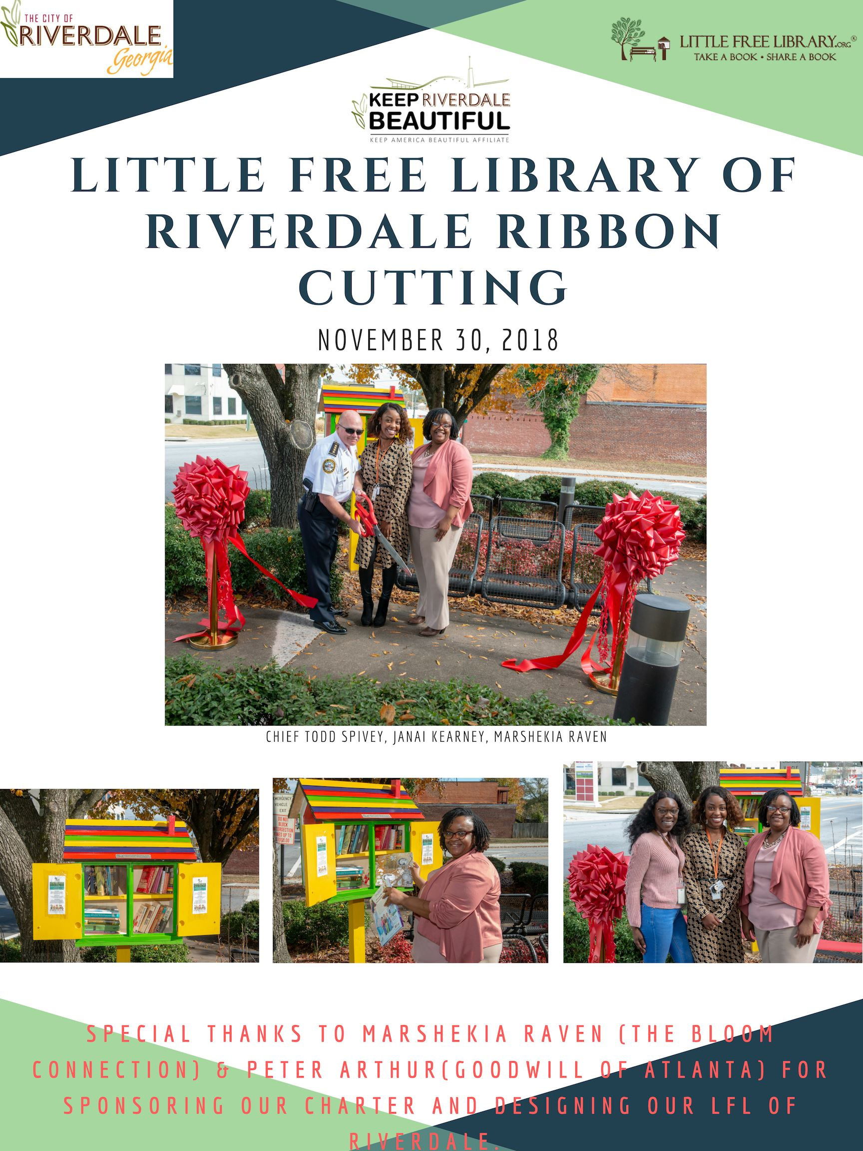Ribbon Cutting Ceremony- LFL