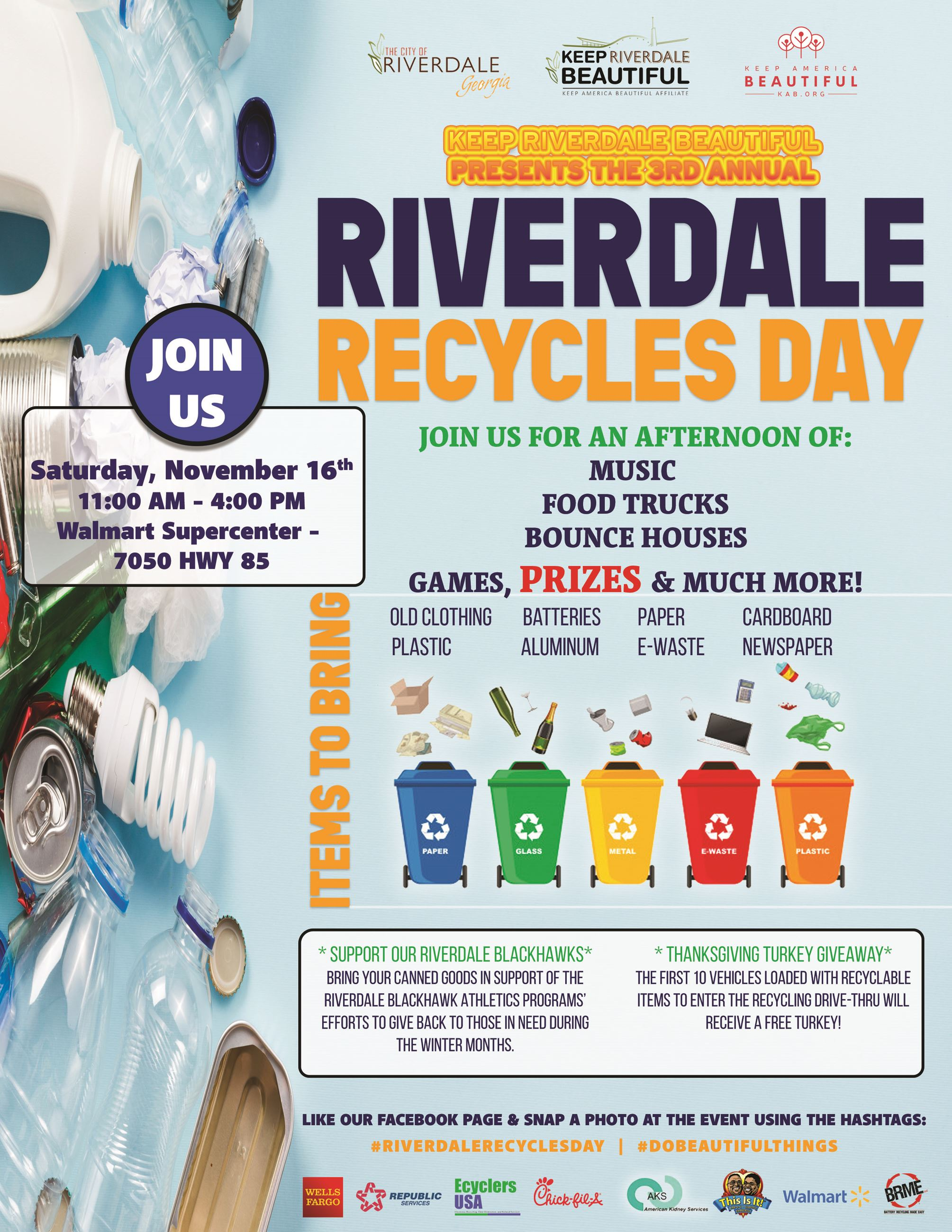 Riverdale Recycles Day 2019
