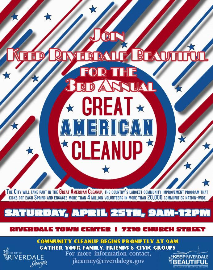 Great American Cleanup 2020 Flyer
