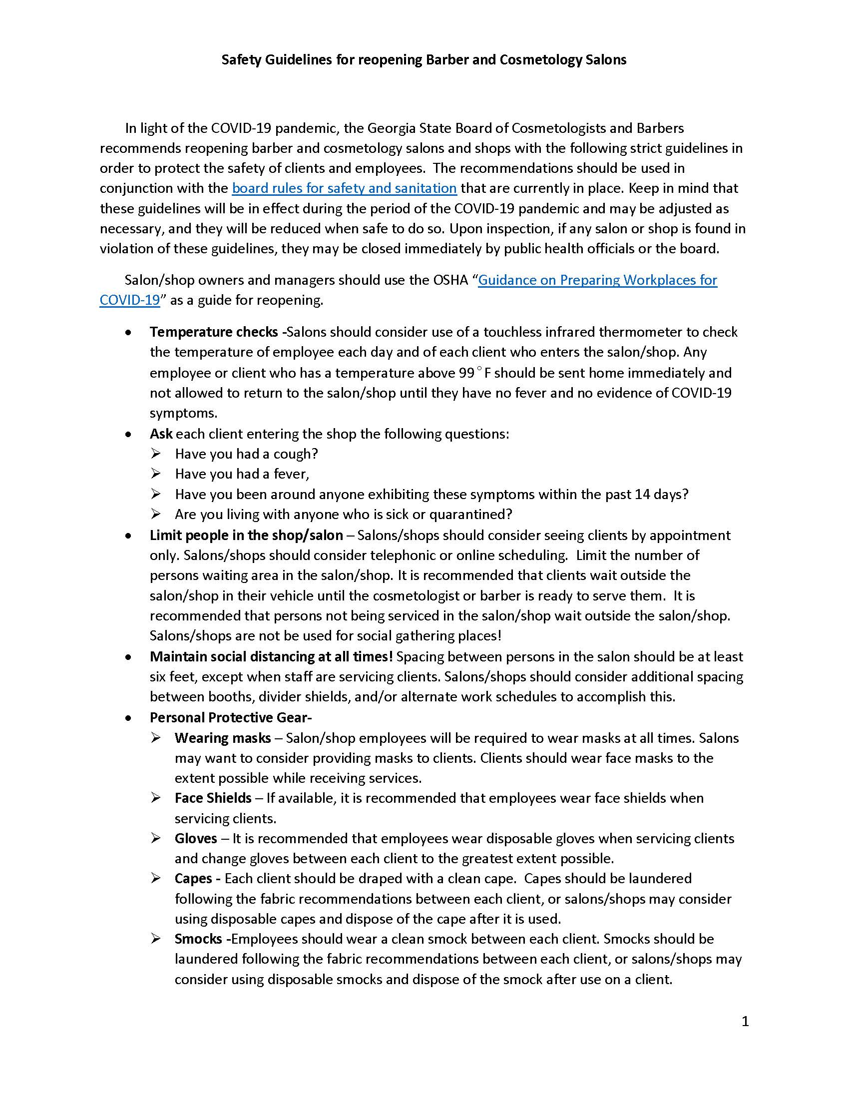 28 Safety Guidelines for Return to Work - COVID19_Page_1