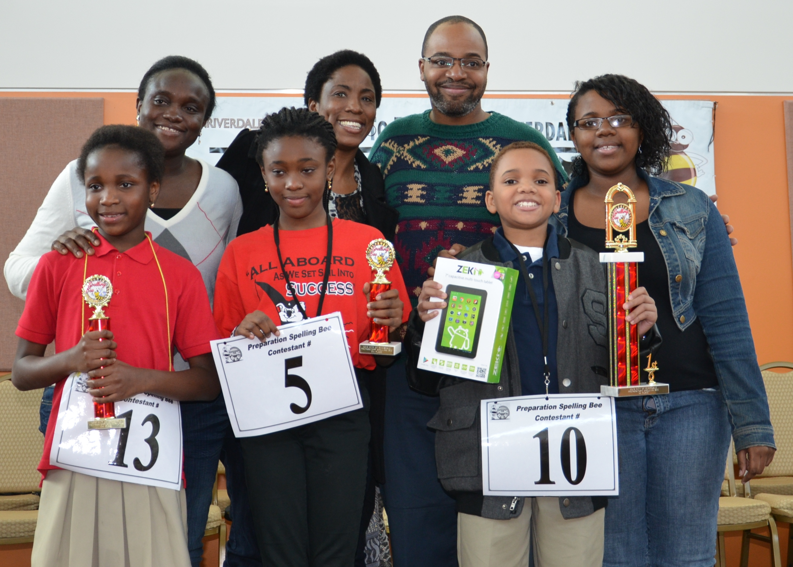 Bee 4th 5th Grade Winners All2